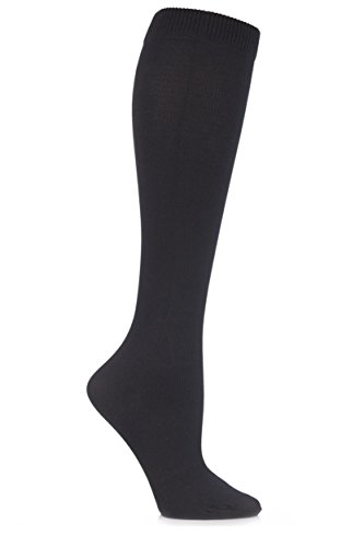 31r5GaltwBL - Sock shop Unisex flight and travel socks, 80 denier, 4-7 uk, 37-40 eur (black)