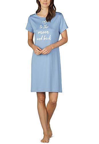 Mey Night Shelly Damen Nachthemden Blau 40