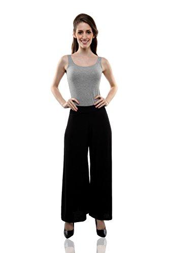 Miss Chase Women's Pants (MCAW14BT02-18-62_Black_Free Size)