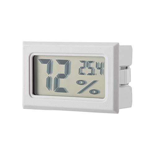 Garosa Medidor De Temperatura Rápido con Monitor Incorporado De Humedad Preciso y Termómetro De Higrómetro...
