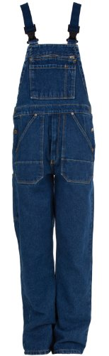 Eiko 4607 Gr. 54 Arbeitshose Jeans - Latzhose, 100% Baumwolle