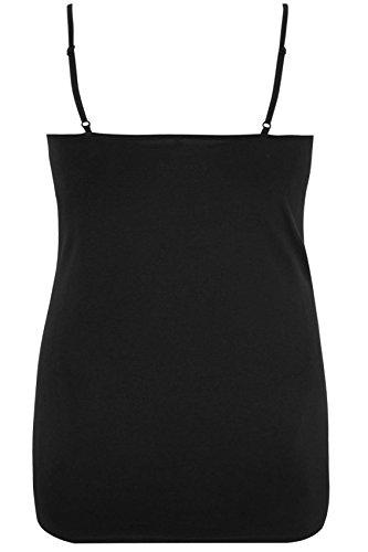 Yours Clothing - Débardeur - Femme Noir