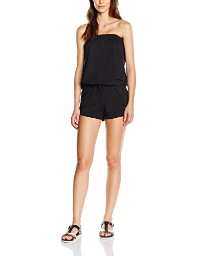 Urban Classics Damen Ladies Hot Jumpsuits, Schwarz (Black 7), Medium -