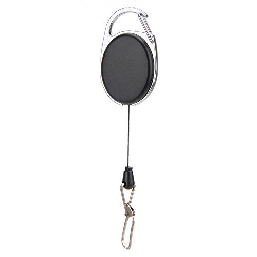 edc Ice Schlüssel Ring Titan Legierung Aufhängen Schnalle EDC Karabiner Schlüsselanhänger Key Haken Clip Halterung mit Elastic Dehnung Seil Design