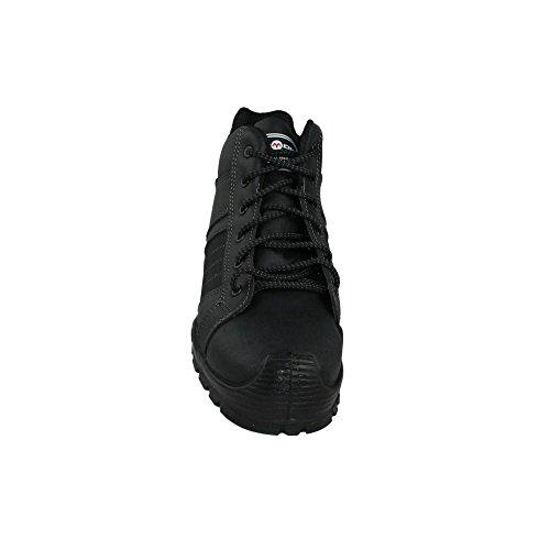 Aimont lepos s3 sRC chaussures berufsschuhe businessschuhe chaussures de trekking (noir) Noir - Noir