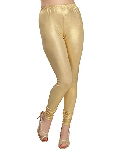 ALC Creations Womens Shimmer Leggings(ALCLSHIMMER1_Gold_XL)