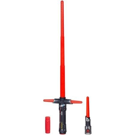 Star Wars The Force Awakens Kylo Ren Deluxe Electronic Lightsaber Simulates...