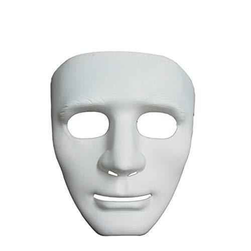 Kostüm Männliche Komisch - satiny Halloween Maske Männlich Hip Hop Purge Maske Tanzen Clown Maske Komisch Maskerade Masken Fasching Festival Party Cosplay PVC Maske
