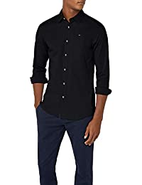 Tommy Jeans Homme Original Stretch  Chemise Casual Manches Longues coupe slim