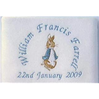 Peter Rabbit Personalised Blanket