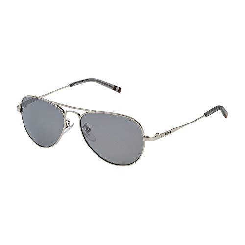 STING Mädchen Sonnenbrille Black/Silver