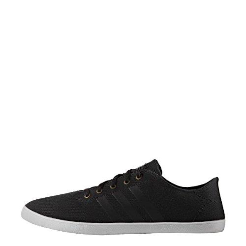 adidas  Cloudfoam Qt Vulc W, chaussure de sport femme Core Black / Core Black / DGH Solid Grey