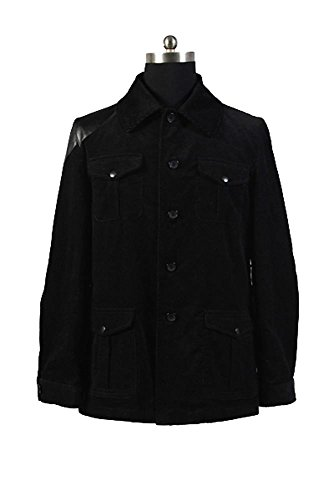 Sherlock Holmes Dr. John Watson Black Jacket Costume (Halloween Watson Kostüme Und Holmes)