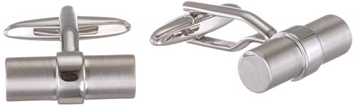 Seidensticker Herren Manschettenknöpfe Manschettenknöpfe, per pack Silber (SE 34.759 R2 01), One Size (Herstellergröße:****)