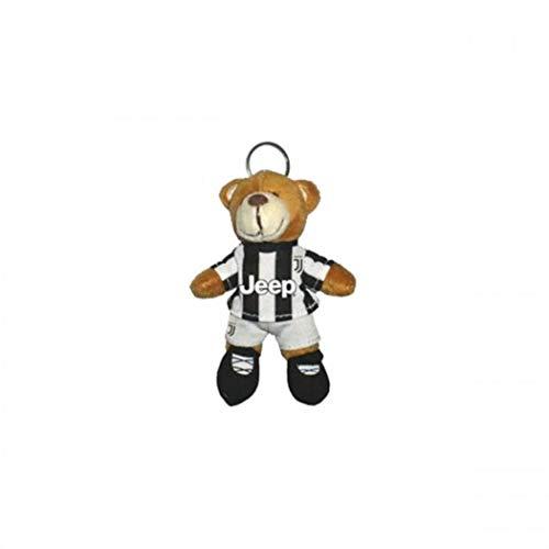 F.C. Juventus Turin - Fussballbär im Offiziellen Trikot - 12 cm Schlüsselanhänger