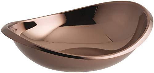 Sambonet 55690U26 Twist Edelstahl/PVD Rum Schüssel oval 26 cm (1 Stück) Sambonet Twist
