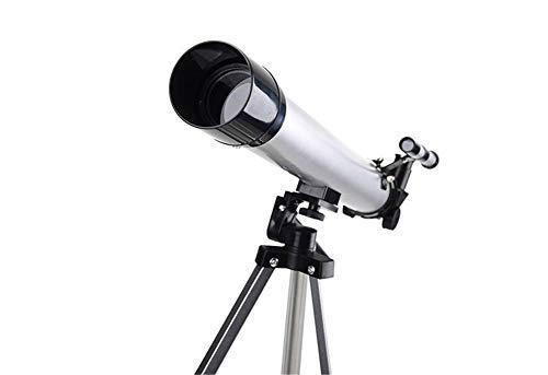 HUATXING Telescopio astronómico HD 100X telescopio