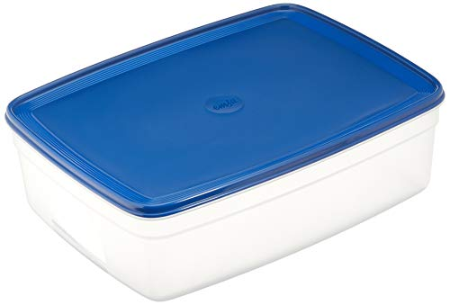 Emsa SUPERLINE FH-Dose eckig 8,5 L blau, Plastik