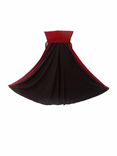 KFD Kids Vampire Dracula Cape Halloween Costume & Fancy Dress (Full Size)