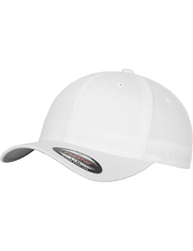 Flexfit Erwachsene Mütze Wooly Combed Xs, White, 52-54 cm (youth), 6277XS