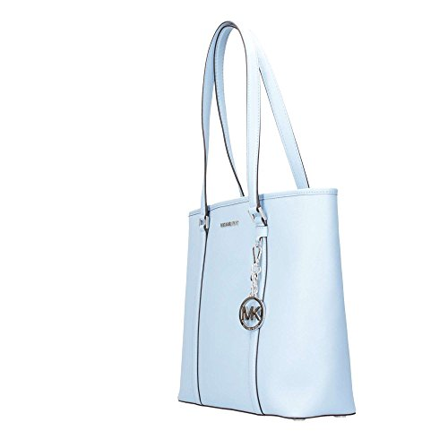 Michael Kors 35S7SD4T3L LIGHT Borsa A Spalla Donna Celeste