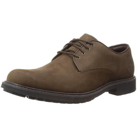 Timberland EKSTORMBK - Zapatos casual de cuero para hombre