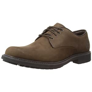 Timberland Earthkeepers Strombuck Plain Toe Oxford, Men's Lace-Up Shoes, Brown (Burnished Dark Brown Oiled), 7 UK (41 EU)