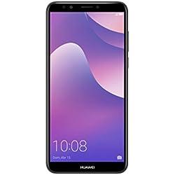 """Huawei Y7 Prime - Smartphone de 5.99"""" (3GB RAM, 32 GB memoria, cámara de 13+2MP/8MP, 3000mah) Negro"""