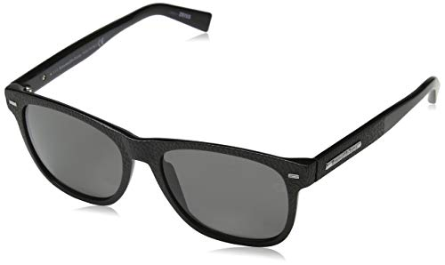 Ermenegildo zegna sonnenbrille ez0020 occhiali da sole, nero (schwarz), 54.0 uomo