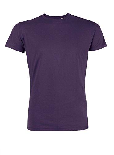 Everbasics Herren T-Shirt Turin Rundhals - Funktionsshirt für tagelanges Tragen ohne Waschen - in vielen Farben erhältlich! Lila