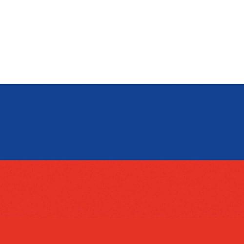 Apple iPhone 5s Housse Étui Protection Coque Russie Drapeau Russia Étui en cuir marron