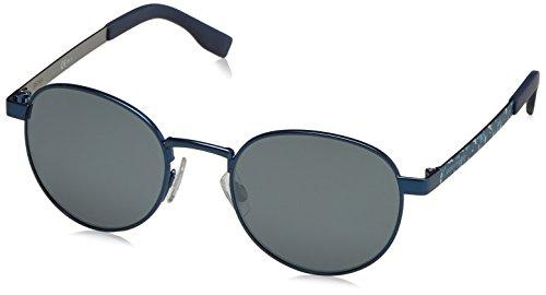 BOSS Orange Unisex-Erwachsene BO 0269/S 9Y IBD Sonnenbrille, Blau (Bluette Antbluee/Grey Fl Slv), 52