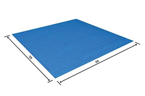 Bestway 58000 - Tapiz de Suelo, 274 x 274 cm