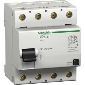 Interrupteur 4 Poles - Schneider Elec PBT–Dit 2044–Interrupteur différentiel id-b 4pôles