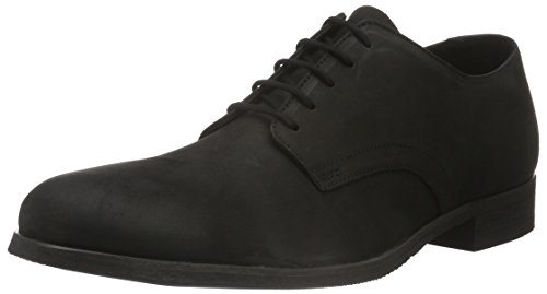 Shoe the Bear Us N, Derby Homme Noir (Black)