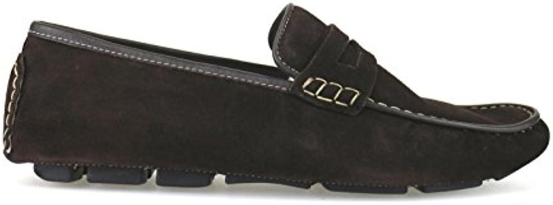 Zapatos Hombre Rossini Mocasines Marrón Gamuza AH53 (41 EU)