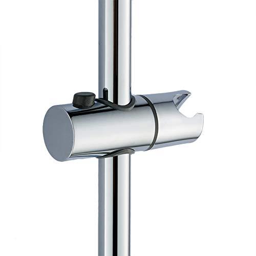 Gleiter Schieber Duschkopfhalterung verstellbar Brausehalter für Wandstange 25 mm