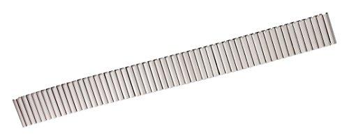 Bracelet de Rechange Citime en Acier Inoxydable, Argenté Fini Mat , Bande 14mm - S14003