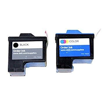 Original Dell Series 1T0529T0530fn172fn178Tintenpatrone 2Stück in Bulk Verpackung für Dell 720A920Drucker -