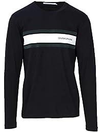 f636d7cc97d Calvin Klein - Tee Shirts Manches Longues Hommes - J30J309586-099 - XL Noir