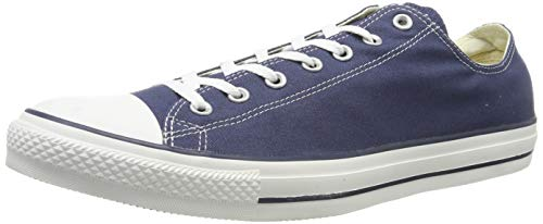CONVERSE Chuck Taylor All Star Seasonal Ox, Unisex-Erwachsene Sneakers, Blau (Navy), 35 EU Converse All Star Ox