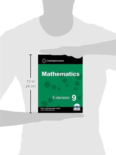 Cambridge Essentials Mathematics Extension 9 Pupil's Book with CD-ROM: Year 9