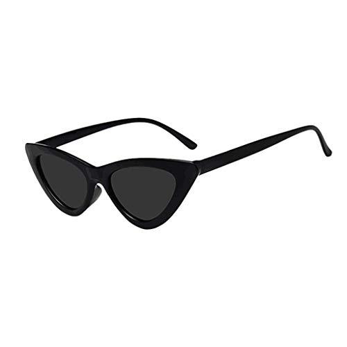 Rcool occhi di gatto triangle occhiali da sole vintage donna polarizzati retro mode protezione da radiazioni uv400