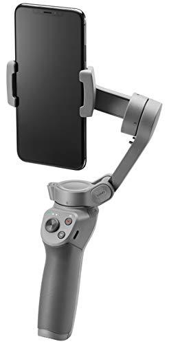 DJI Osmo Mobile 3 - Estabilizador de cardán de 3 Ejes Compatible con iPhone y Smartphone, diseño Ligero y portátil, Captura Estable, Control Inteligente