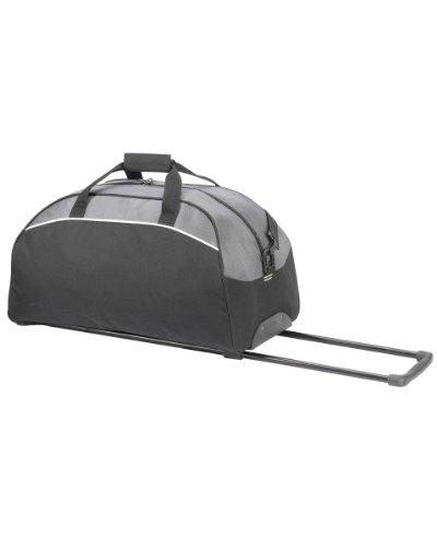 Shugon Barcelona Trolley Borsone Funzionale Duffle Borsa da viaggio grande taglia unica Black/Dark Grey
