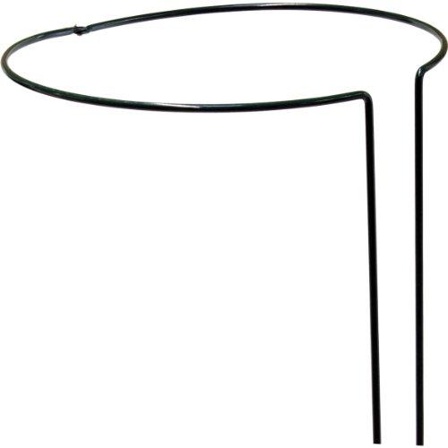 Strauchstütze 55 cm, 5 mm, grün, vollrund, verstellbar