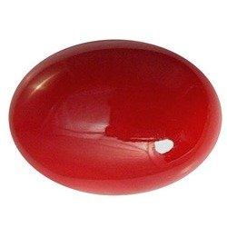 8.50 Ratti Coral Stone Original Certified Cultured Italian Red Coral