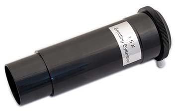 TS Optics Umkehrlinse, Aufrichtlinse 1,5x 1,25' für Refraktor Teleskope, TSELR1