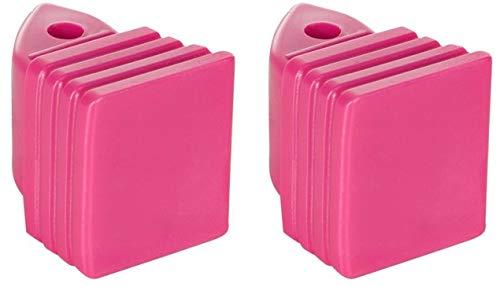 Croxer Inliner-Bremse Bremsstopper Bremsklotz aus Plastik für Inlineskates Balloon 37-40,40-43 (pink)