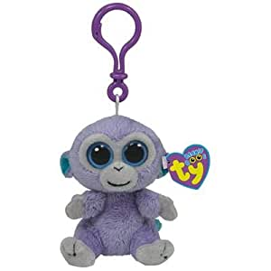 Beanie Boos Clip Blueberry/Affe 8cm (3 ct.) [German Version]